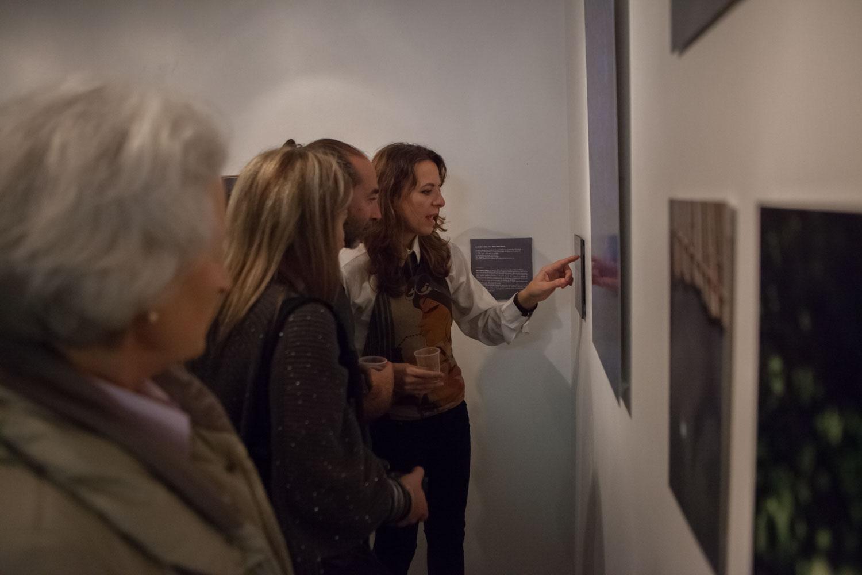 """Vernissage de l'exposition photo à laquelle je participe """"Trace in times"""", vendredi 20 novembre 2015 à la galerie des AAB, 1 rue Picabia, 75020 Paris"""