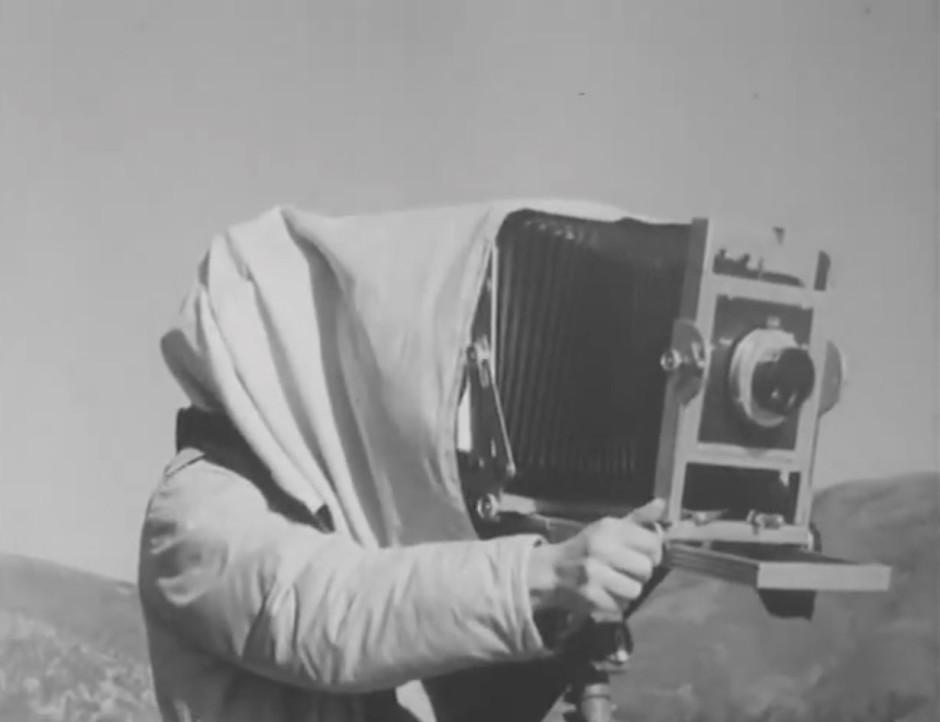 Vidéo d'archive : la vie et le travail d'Ansel Adams. Blog photo Zoom'Up