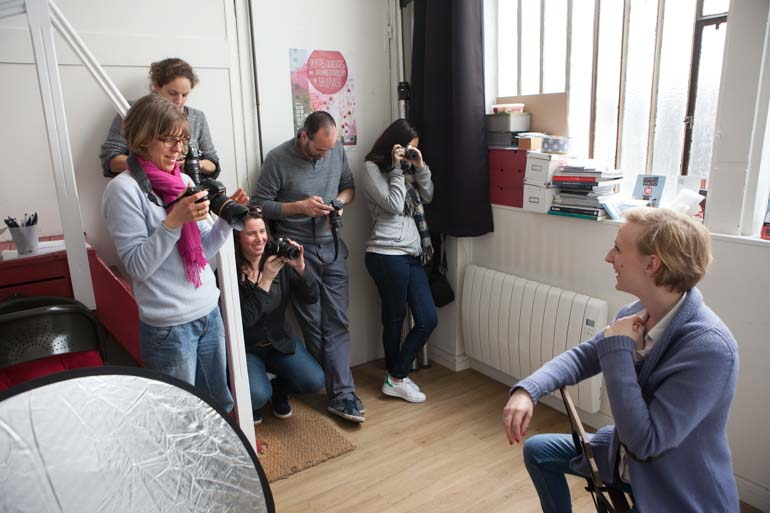 Cours photo - Photos des participants au travail - http://zoomup.biz - Avec ZoomUp – Stage de photographie à Paris