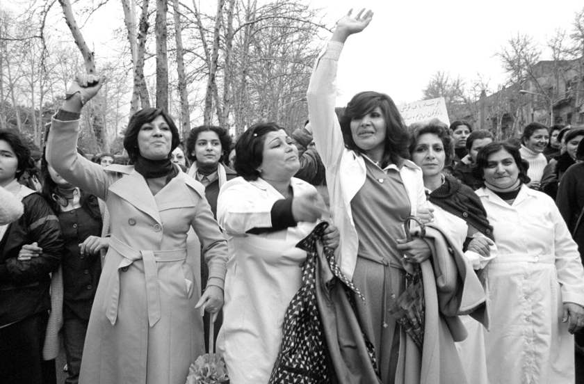 Expo photo : femmes iraniennes contre le port du voile en 1979. Blog photo Zoom'Up