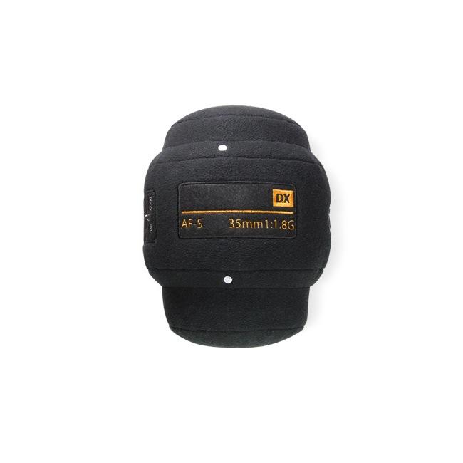 Un oreiller Nikon 35mm f1,8