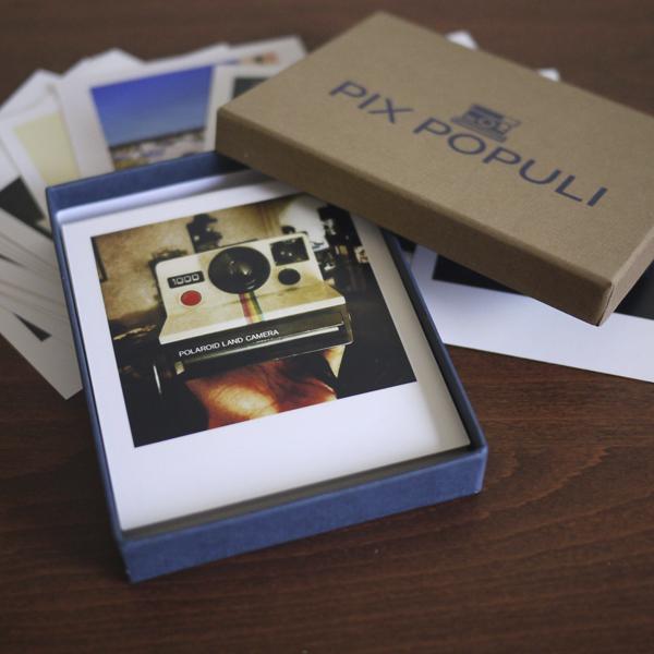 TheBox 30 tirages photos - Pix Populi