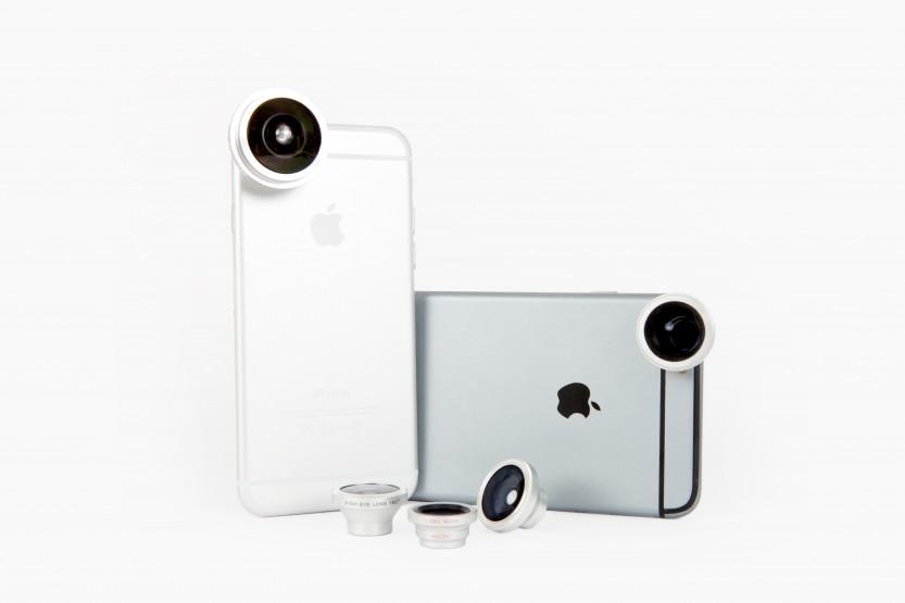 Objectifs photo magnétiques pour smartphone