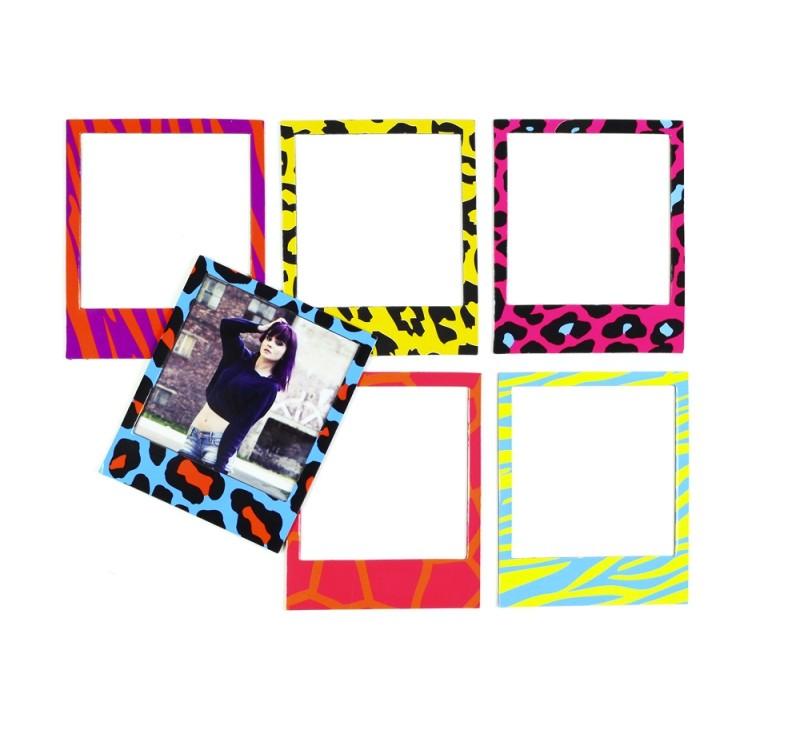 Cadres photo magnétiques Polaroid Couleurs