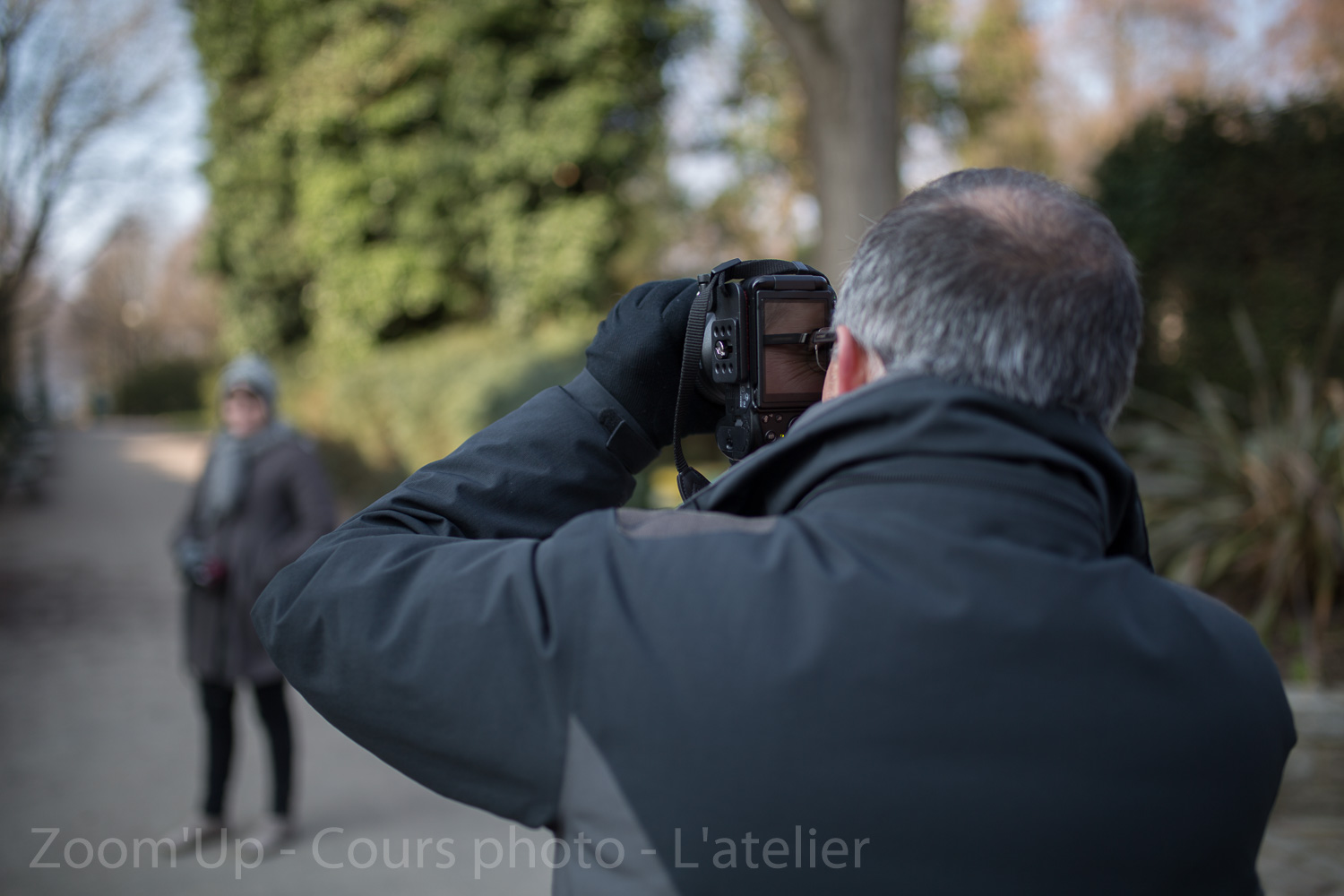 Les participants au travail - Zoom'Up - Cours photo - L'atelier