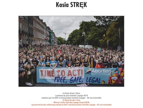 Visa pour l'image Perpignan 2018 Kasia STRĘK
