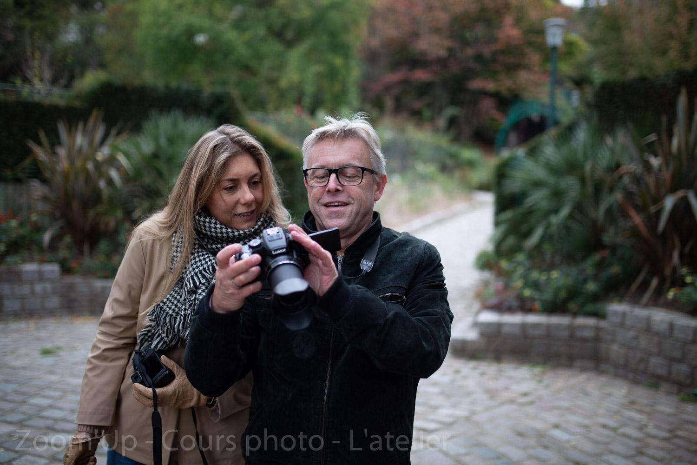 Les participants au travail. Zoom'Up - Cours photo - L'atelier